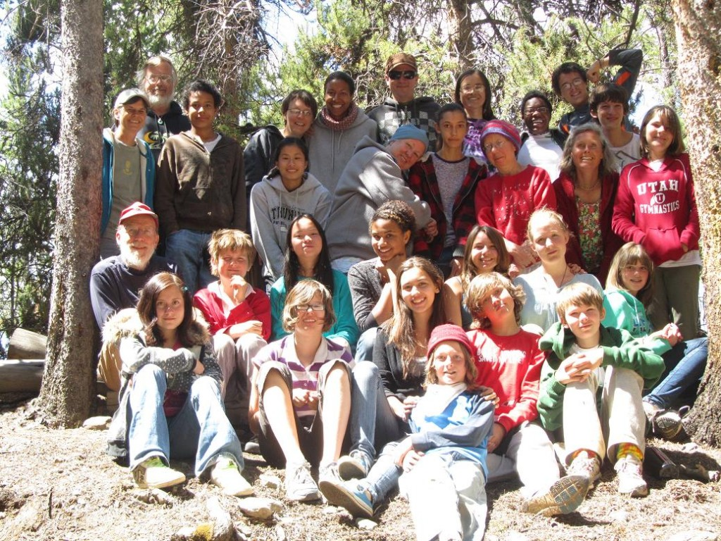 Mountain Friends Camp week 1 group pic
